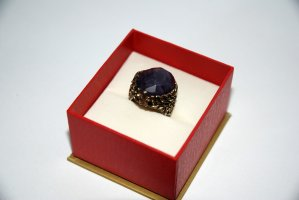 Accessorize Ring donkerpaars