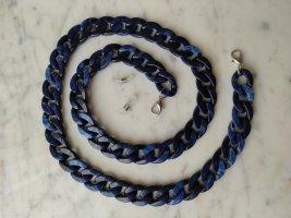 Catenina blu-blu scuro