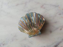 Acetat Muschel Haarclip Haarspange Marble Look