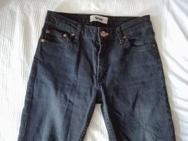 Acne Tube Jeans anthracite-black cotton