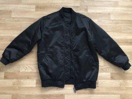 Acne Blouson aviateur noir nylon