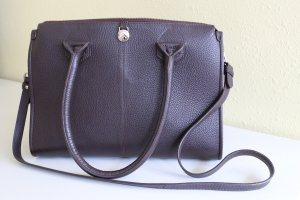 Adax Carry Bag dark brown leather