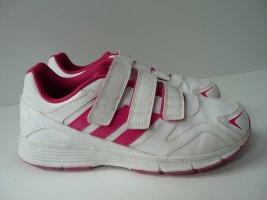 Adidas Zapatillas con velcro blanco-magenta Sintético