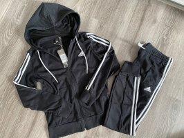 Adidas Veste sweat noir-blanc