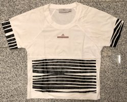 Adidas by Stella McCartney T-shirt wit-zwart