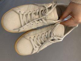 Adidas Sneakers met veters lichtgrijs-zandig bruin Suede