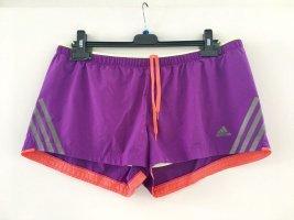 Adidas climacool supernova Sporthose kurze Hose Shorts lila pink neongelb