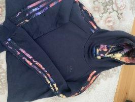 Adidas Maglione con cappuccio blu scuro