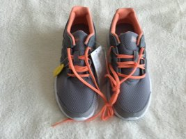 Adidas Originals Lace-Up Sneaker light grey-orange