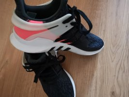High Top Sneaker anthracite-neon pink