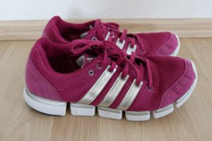 Adidas Lace-Up Sneaker raspberry-red-white