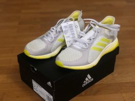 Adidas Lace-Up Sneaker white-yellow