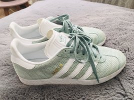 Adidas Originals Sznurowane trampki biały-jasnoniebieski