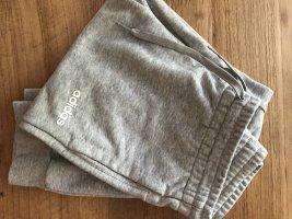 Adidas Pantalon de sport argenté coton