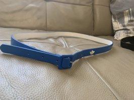 Adidas Cintura in ecopelle blu