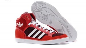 ADIDAS HIGH TOP SNEAKERS GR37