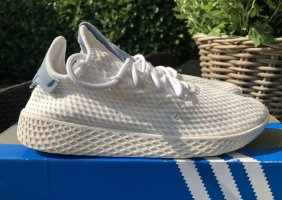 Adidas Instapsneakers wit-korenblauw