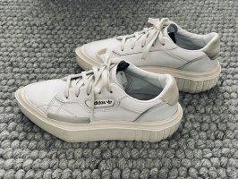 Adidas Originals  wit Leer