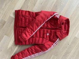 Adidas Giubbotto trapuntato rosso
