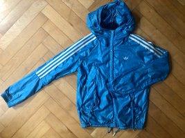 Adidas Chaqueta deportiva azul neón