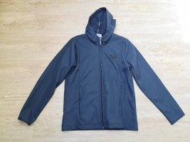 Adidas Giacca softshell nero-blu scuro