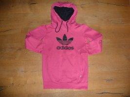 Adidas Capuchon sweater framboosrood-zwart Katoen