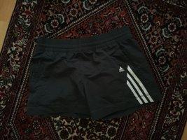 Adidas Kurze Sporthose / XS / Grau