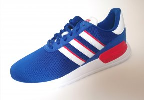 Adidas Originals Lace-Up Sneaker red-blue