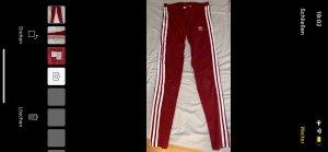 Adidas Legging rouge foncé