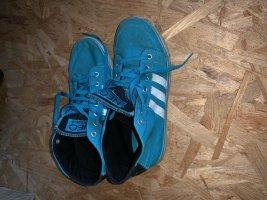 Adidas NEO Wysokie trampki niebieski