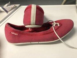 Adidas NEO Bailarinas de tira rosa