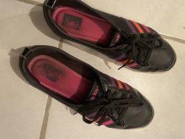 Adidas NEO Ballerines en cuir verni multicolore