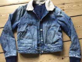Adidas NEO Denim Jacket blue