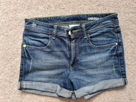 Adidas Neo kurze Hose Hotpants Shorts Jeansshorts Denim W 26