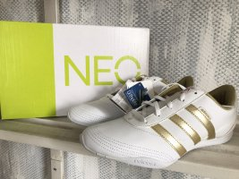 Adidas NEO Lace-Up Sneaker white-gold-colored