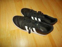 Adidas NEO Sznurowane trampki biały-czarny