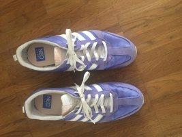 Adidas NEO Sznurowane trampki biały-jasny fiolet