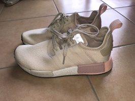 Adidas NMD Sneaker slip-on crema-rosa