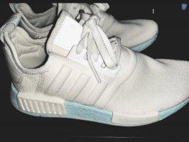 Adidas NMD Basket à lacet blanc-bleu clair