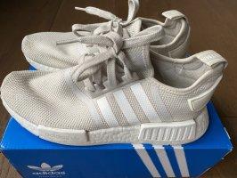 Adidas Basket à lacet beige-crème