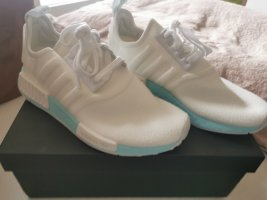 Adidas NMD Lace-Up Sneaker white-light blue