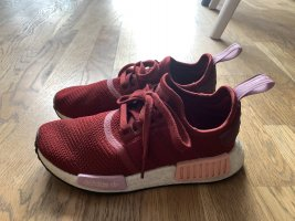 Adidas NMD red sneakers