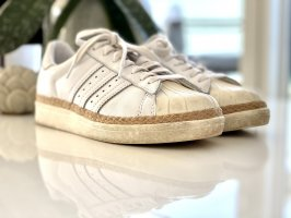 Adidas Originals Sznurowane trampki biały-kremowy Skóra