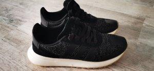 Adidas Sneaker con tacco nero