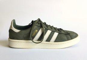 adidas Originals CAMPUS W BY9842 Sneaker Nubukleder grün Gr. 6 ½