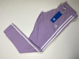 Adidas Leggings white-lilac cotton