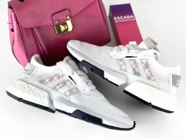 Adidas Originals POD S3.1 weiss mit Swarovski Elements Luxus Sneaker NMD crysta