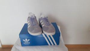 Adidas Originals Sneakers met veters wit-paars Suede