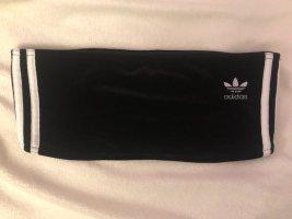 Adidas Originals Haut bandeau blanc-noir polyester