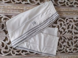 Adidas Pantalone da ginnastica bianco-grigio chiaro